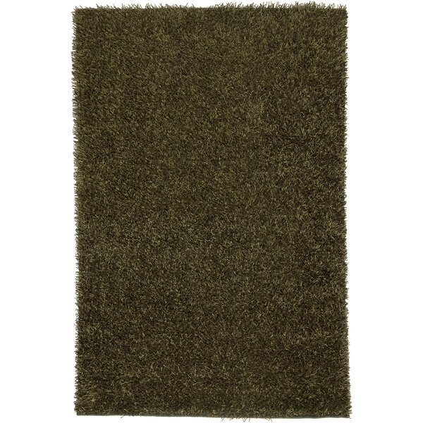 Hand-Tufted Olive Area Rug by The Conestoga Trading Co.