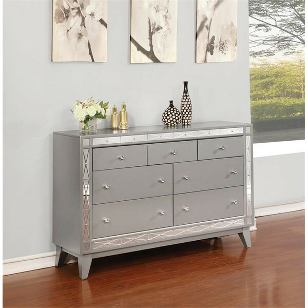 Hodge 7 Drawer Double Dresser by House of Hampton