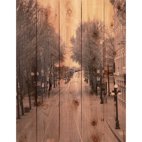 City Street Photographic Print by Gizaun Art
