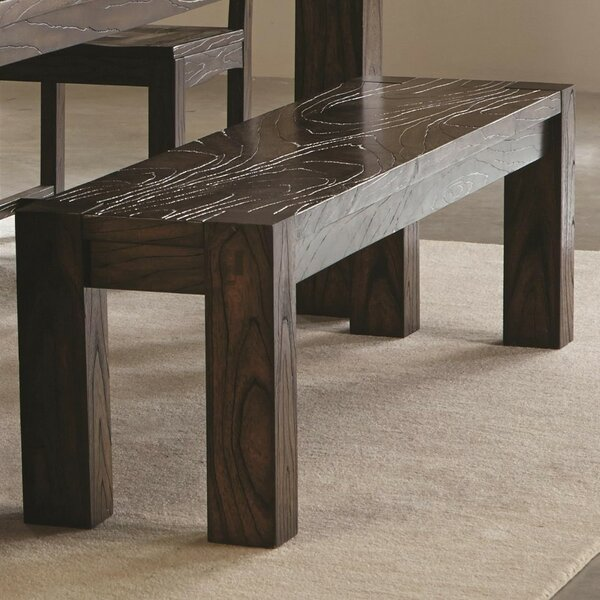 Vansickle Dining Bench By Millwood Pines 2019 Coupon