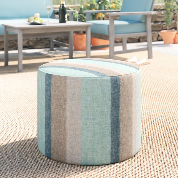 Adamstown Pouf by Beachcrest Home