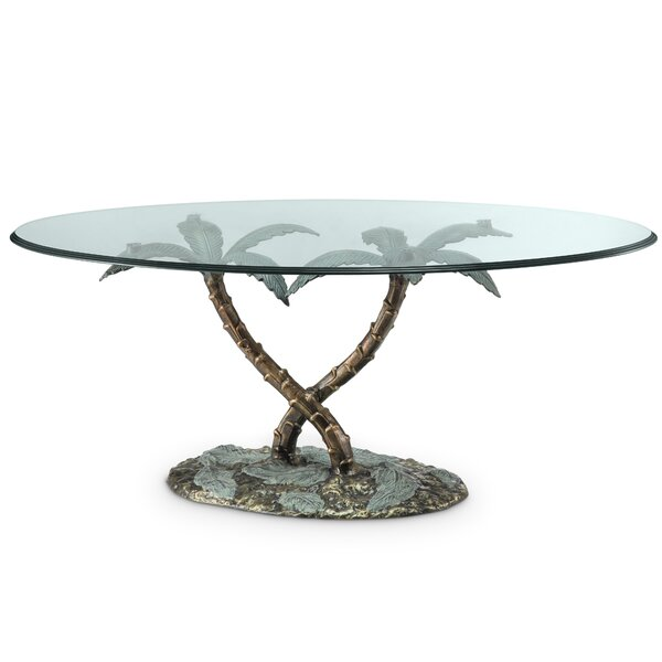 Palm Tree Coffee Table by SPI Home