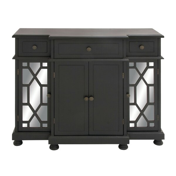 Charvi 3 Drawer Accent Cabinet by Charlton Home Charlton Home