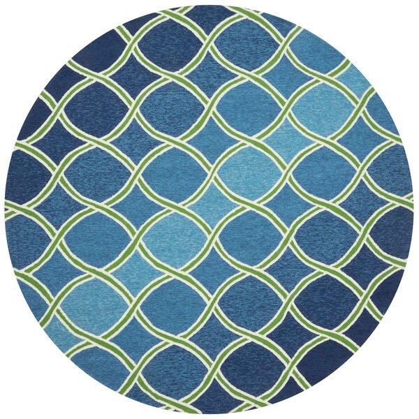 Danko Blue Indoor/Outdoor Area Rug by Wrought Studio