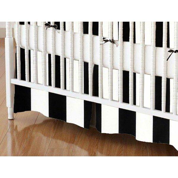 Stripe Crib Skirt by Sheetworld