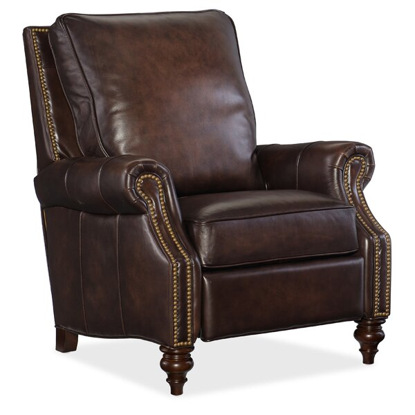 Cathleen Leather Recliner By Red Barrel Studio