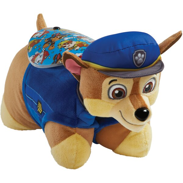 Sleeptime Lite Nickelodeon Paw Patrol Chase Plush Night Light by Pillow Pets