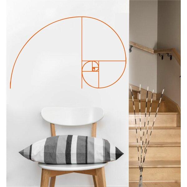 Eyvaldecal Fibonacci Spiral Decal Sacred Geometry Vinyl Wall Decal Wayfair