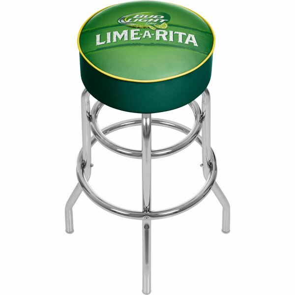 Bud Light Lime-A-Rita 31 Swivel Bar Stool by Trademark Global