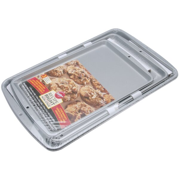 Non-Stick Cookie Pan Set by Wilton