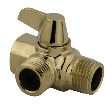 Trimscape Solid Brass Flow Diverter for Shower Arm Mount by Kingston Brass