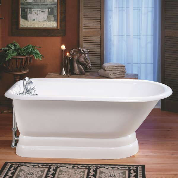 61 x 30 Soaking Bathtub with No Faucet Holes by Cheviot Products