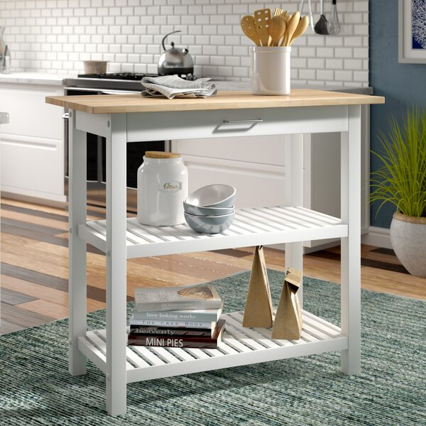 Fresh Lakeland Kitchen Island By Beachcrest Home Great Reviews