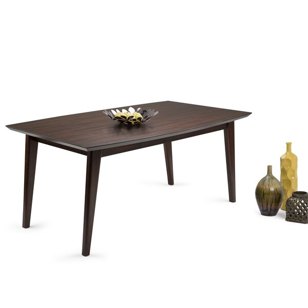 Halvorson Solid Wood Dining Table by George Oliver