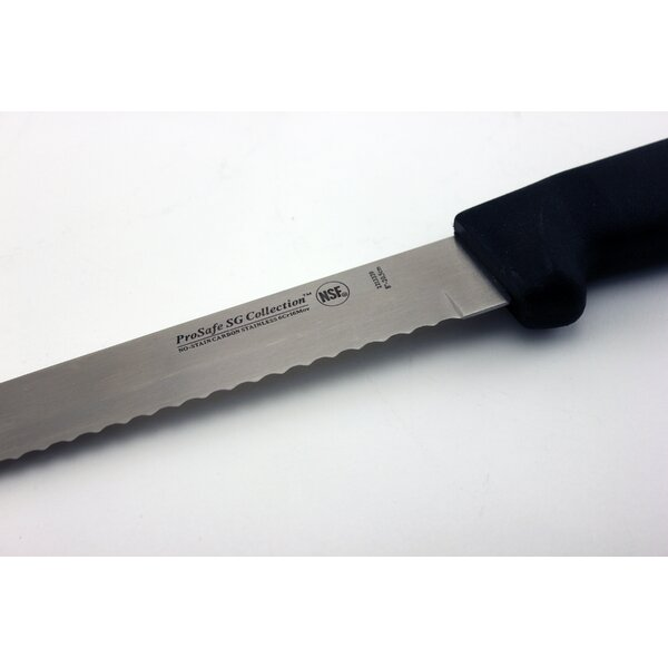 ProSafe Soft Grip Scalloped 8 Bread Knife by BergHOFF International