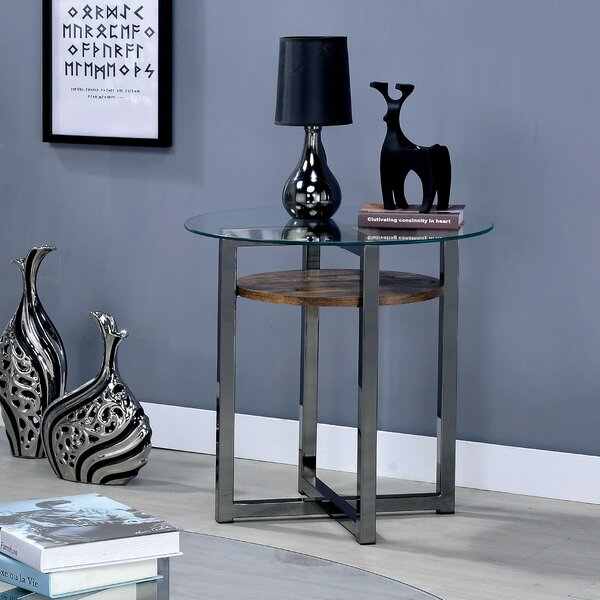 Dex End Table by 17 Stories 17 Stories