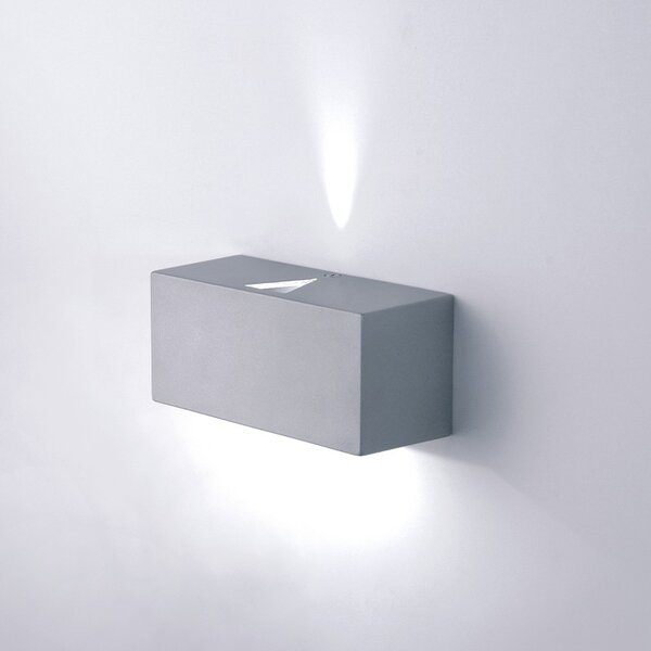 Mini-LED Rectangular 2-Light Wall Sconce by ZANEEN design