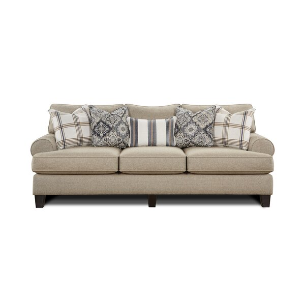 Lebrun 98-inch Recessed Arm Sofa by Alcott Hill Alcott Hill