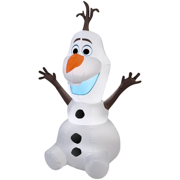 Olaf Christmas Inflatable by The Holiday Aisle