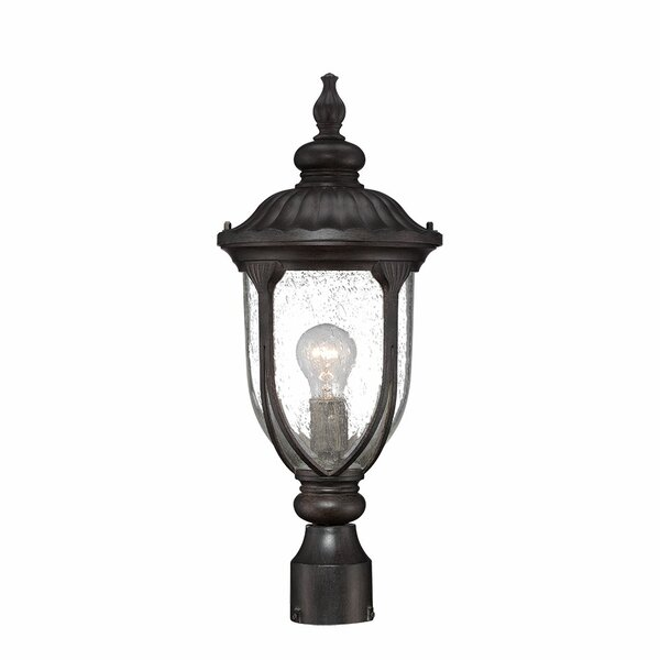 Angie Outdoor 1-Light Lantern Head by Fleur De Lis Living