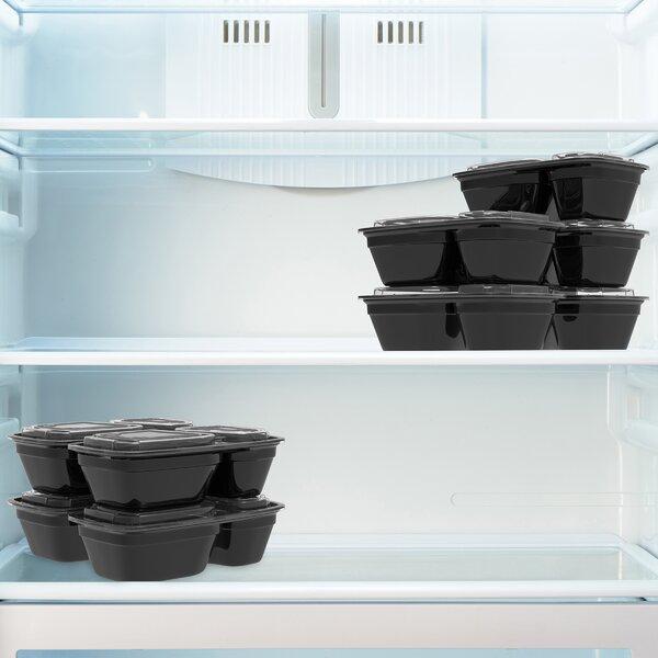 Fugate Meal Prep 10 Container Food Storage Set (Set of 10) by Rebrilliant