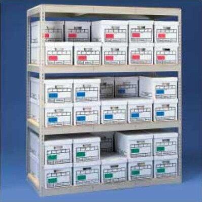 Archive 4 Shelf Shelving Unit Starter by Tennsco Corp.
