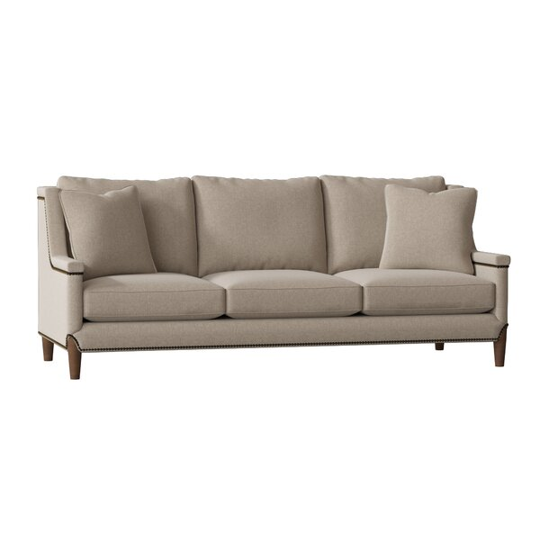Excellent Brands Liam Capped Arm Sofa by Gabby by Gabby
