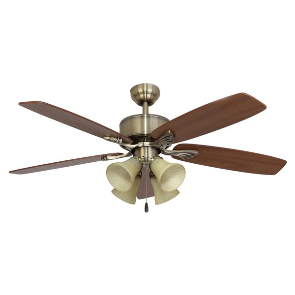 52 Northport 4-Light 5-Blade Ceiling Fan by Calcutta