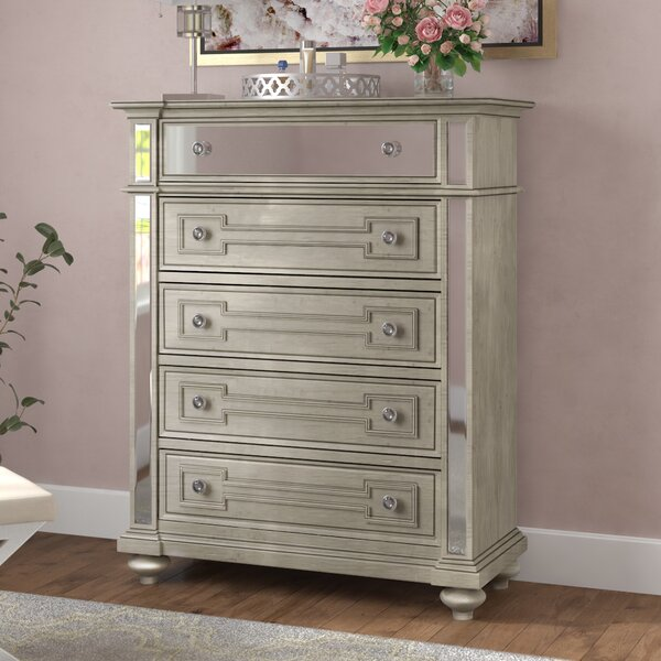 Ronna 5 Drawer Chest by Willa Arlo Interiors