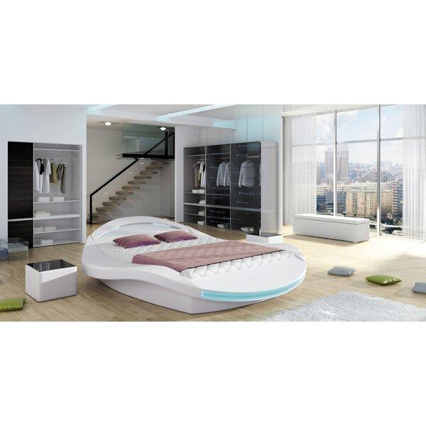 Sarava Upholstered Storage Platform Bed with Mattress by Orren Ellis