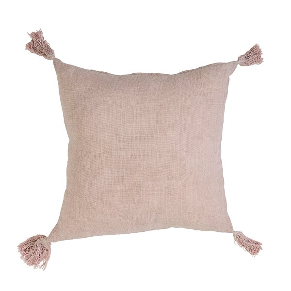 Bilderback Linen Throw Pillow by Langley Street