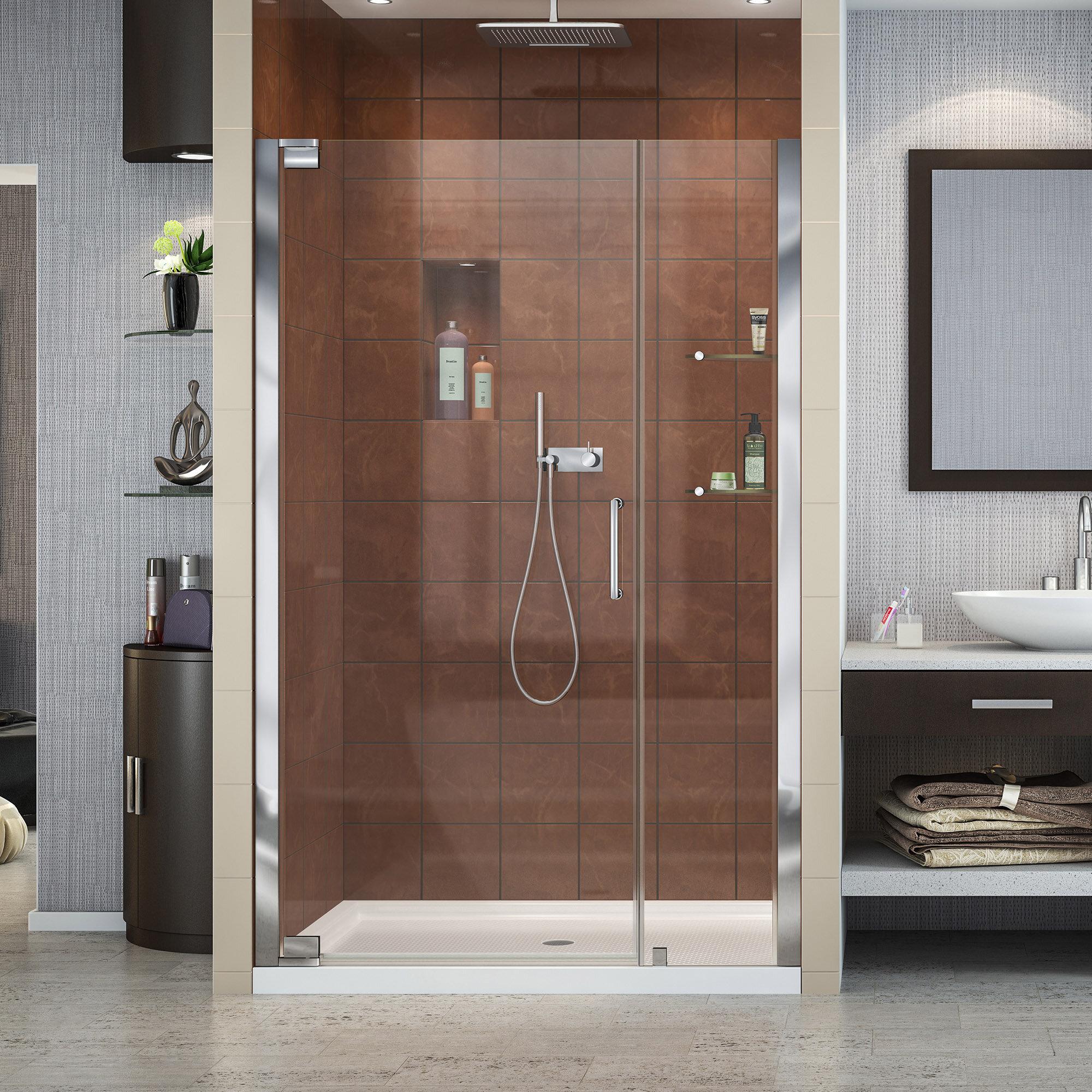 Dreamline Elegance 4625 X 72 Pivot Frameless Shower Door With
