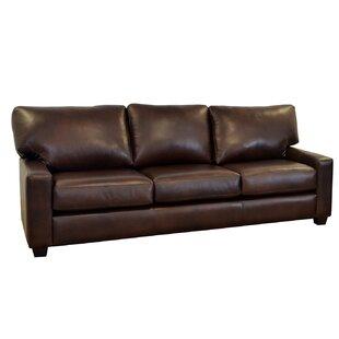 Kenmore Studio Leather Sofa