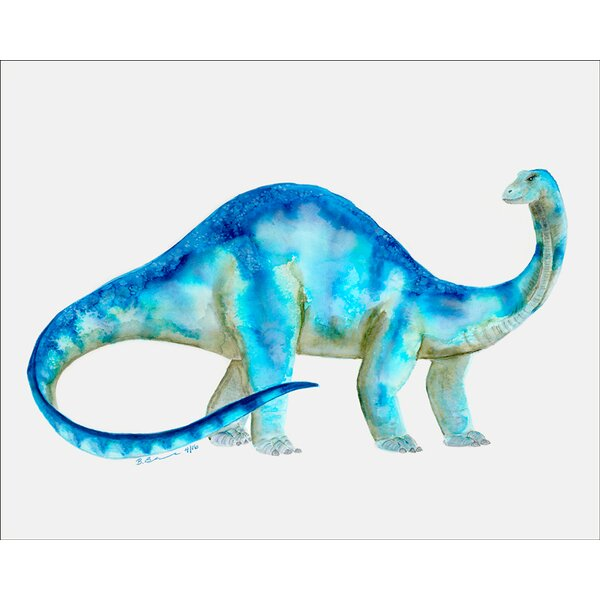 Dinosaur Portrait - Brachiosaurus Canvas Art by Oopsy Daisy