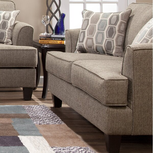Get Great Deals Nordberg Loveseat by Andover Mills by Andover Mills