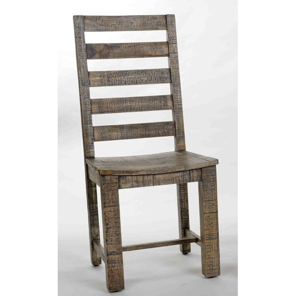 Walburn Solid Wood Dining Chair by Millwood Pines
