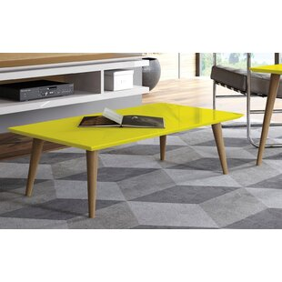 Lemington Rectangle Coffee Table with Splayed Legs