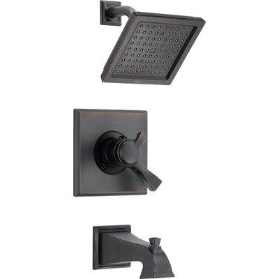 Shower Faucet Tub Handle Bronze photo