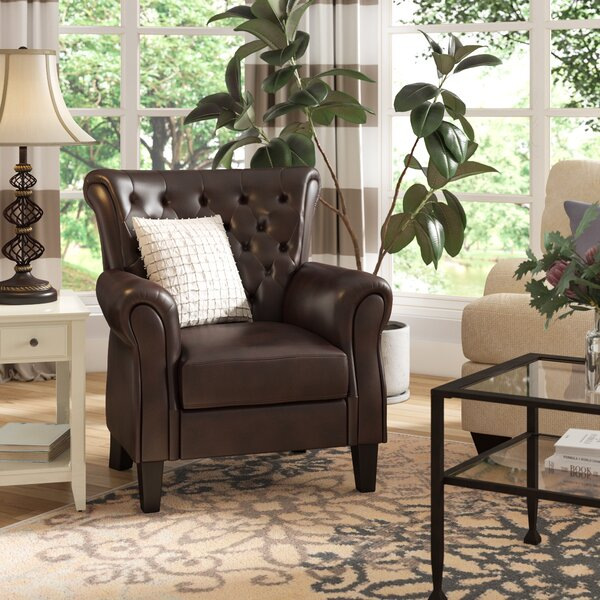 Trumann Club Chair by Charlton Home