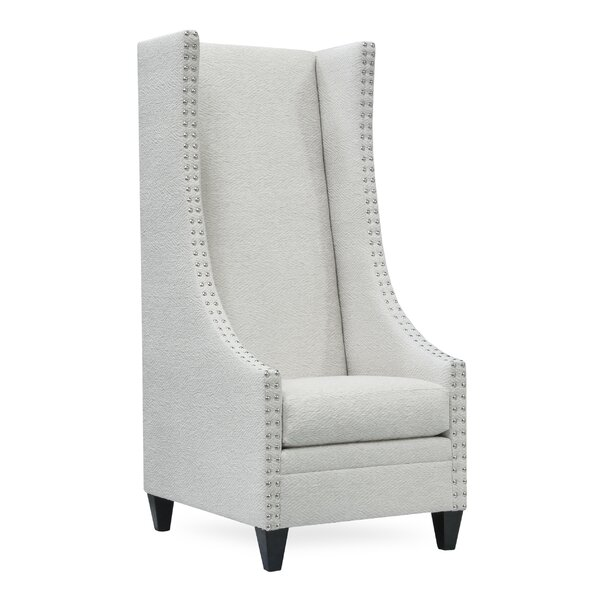 Saige Wingback Chair by Uniquely Furnished