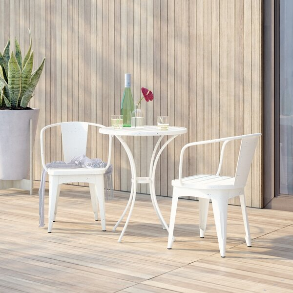 Biles 3 Piece Bistro Set by Mercury Row