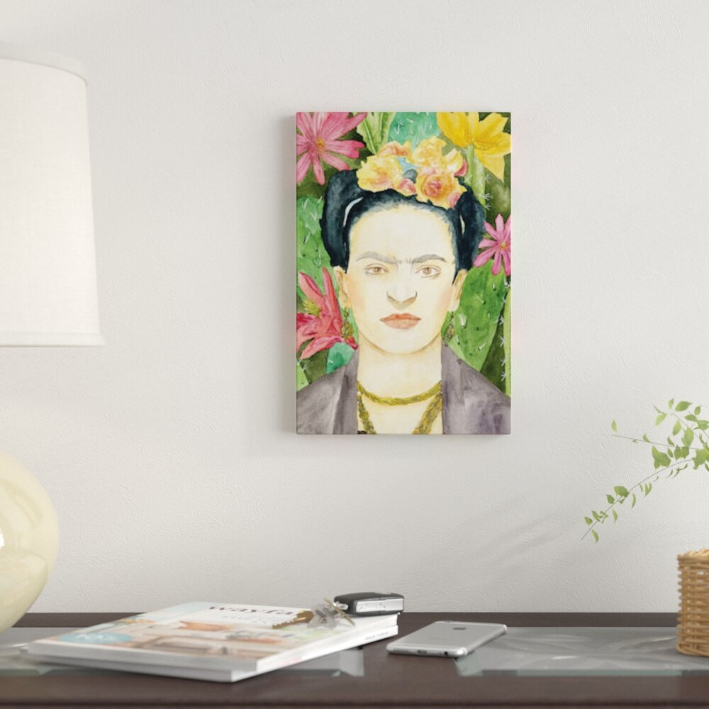 East Urban Home \'Frida Kahlo I\' Print on Canvas | Wayfair.ca