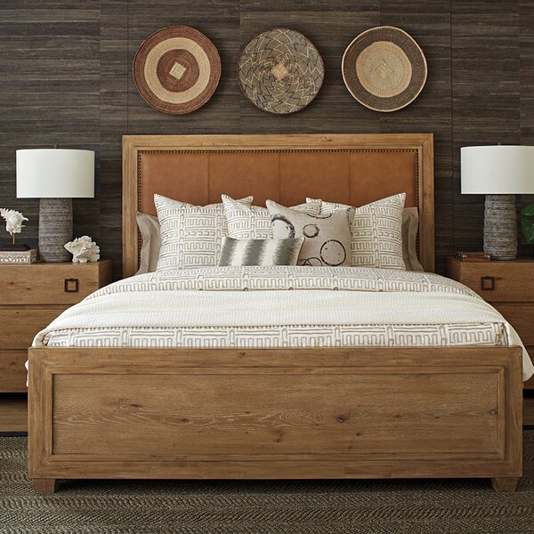 Los Altos Upholstered Panel Bed by Tommy Bahama Home