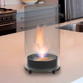 Romeo Bio-Ethanol Tabletop Fireplace by Eco-Feu
