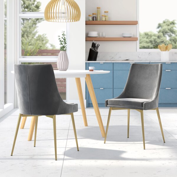 Paluch Upholstered Dining Chair (Set of 2) by Orren Ellis
