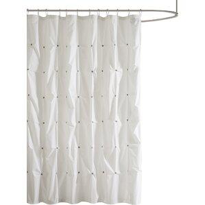 Wonderful Masie Cotton Shower Curtain