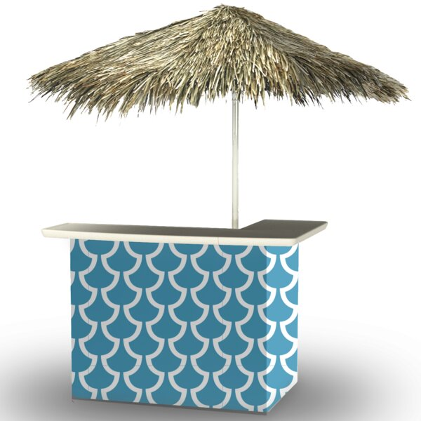 Fun with Fins Tiki Bar Set by Best of Times