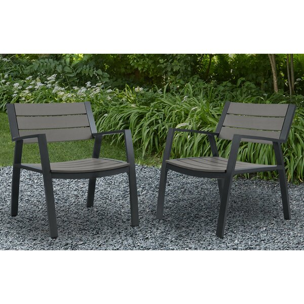 Anson Patio Dining Chair (Set of 2) by Real Flame