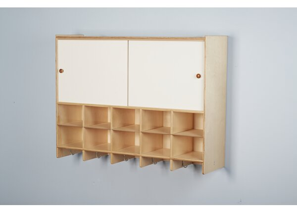 5 Section Coat Locker with Storage by Childcraft