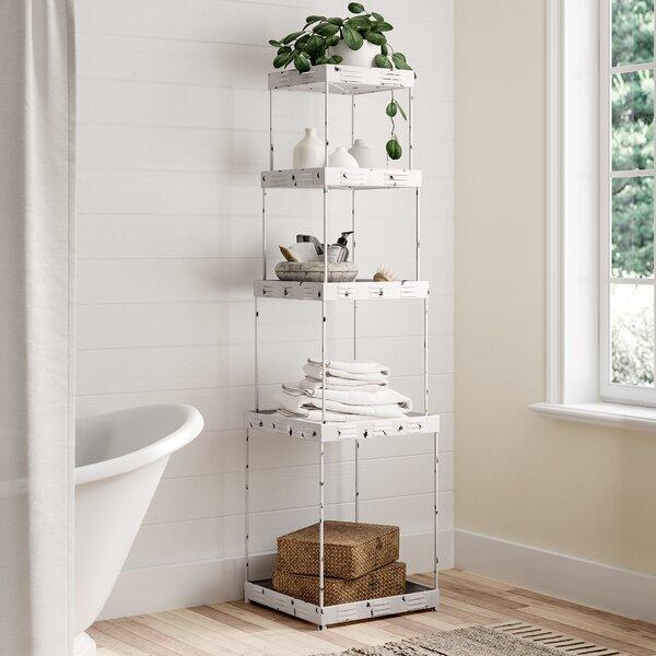 Branham 19.25 W x 72 H Bathroom Shelf